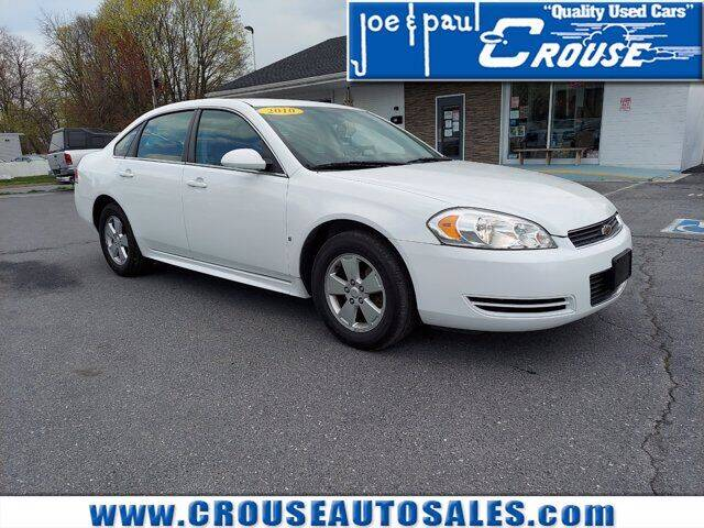 2010 Chevrolet Impala for sale at Joe and Paul Crouse Inc. in Columbia PA