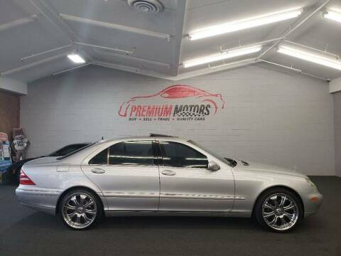 2002 Mercedes-Benz S-Class for sale at Premium Motors in Villa Park IL