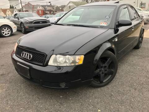 2002 Audi A4 for sale at Majestic Auto Trade in Easton PA