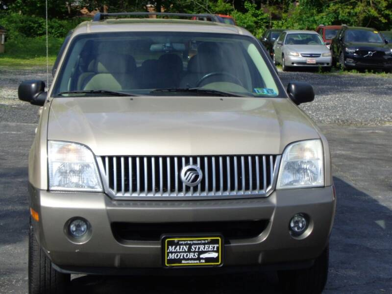 2004 Mercury Mountaineer for sale at MAIN STREET MOTORS in Norristown PA