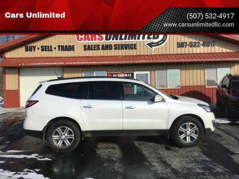 2016 Chevrolet Traverse for sale at Cars Unlimited in Marshall MN