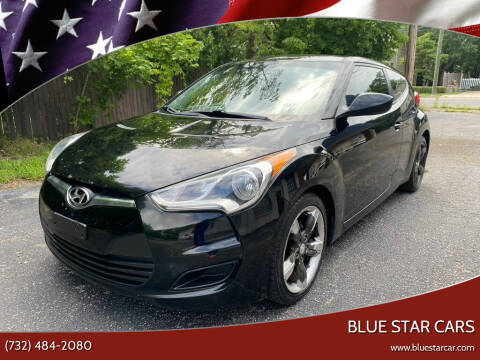 2012 Hyundai Veloster for sale at Blue Star Cars in Jamesburg NJ