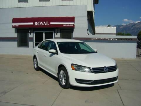 2015 Volkswagen Passat for sale at Royal Auto Inc in Murray UT