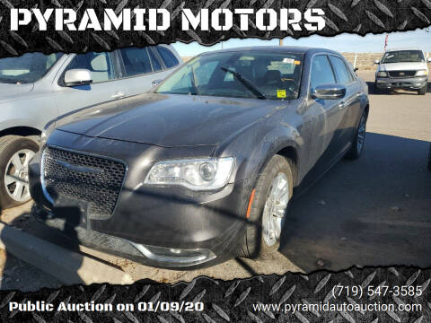 2017 Chrysler 300 for sale at PYRAMID MOTORS - Pueblo Lot in Pueblo CO