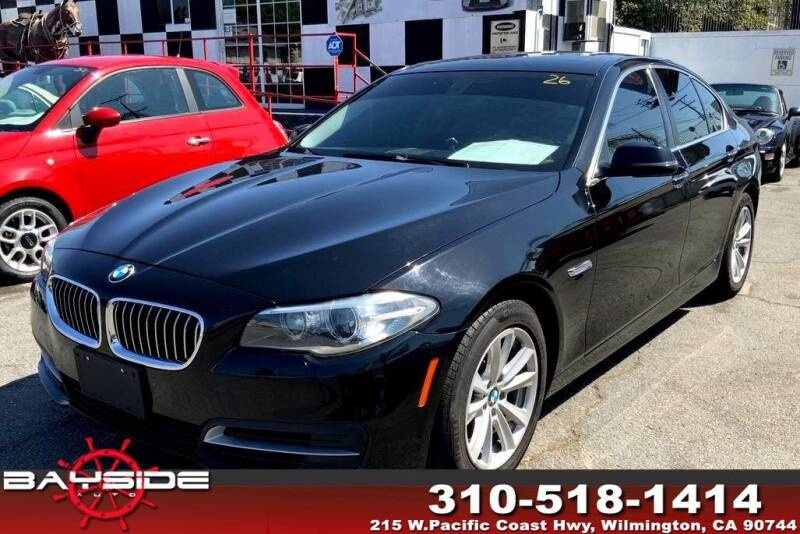 2014 BMW 5 Series for sale at BaySide Auto in Wilmington CA