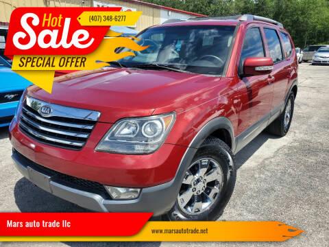 2009 Kia Borrego for sale at Mars auto trade llc in Kissimmee FL