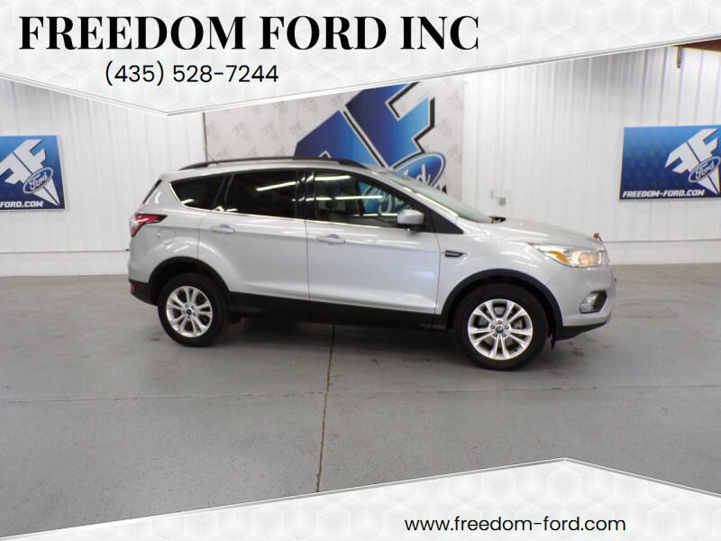 2018 Ford Escape for sale at Freedom Ford Inc in Gunnison UT