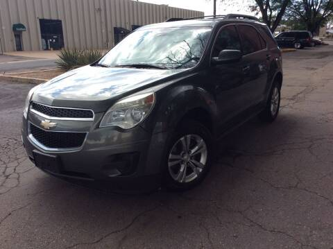 2012 Chevrolet Equinox for sale at AROUND THE WORLD AUTO SALES in Denver CO