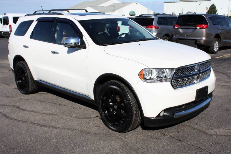 2011 Dodge Durango for sale at New Mobility Solutions in Jackson MI