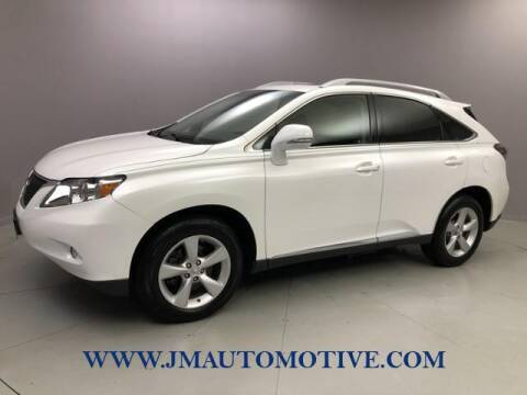 2011 Lexus RX 350 for sale at J & M Automotive in Naugatuck CT
