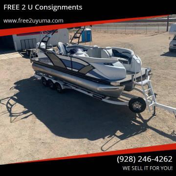 2019 Godfrey Marine AP250XP for sale at FREE 2 U Consignments in Yuma AZ