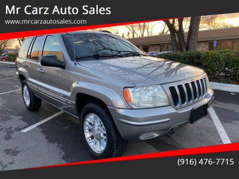 2002 Jeep Grand Cherokee for sale at Mr Carz Auto Sales in Sacramento CA