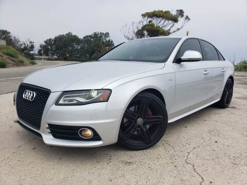 2009 Audi A4 for sale at L.A. Vice Motors in San Pedro CA