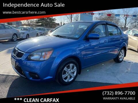 2010 Kia Rio for sale at Independence Auto Sale in Bordentown NJ