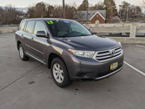 2013 Toyota Highlander for sale at QC Motors in Fayetteville AR