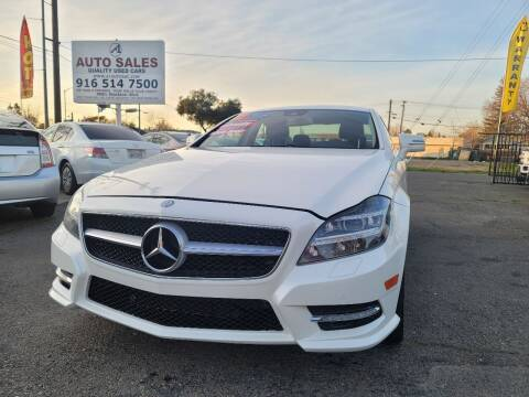 2012 Mercedes-Benz CLS for sale at A1 Auto Sales in Sacramento CA