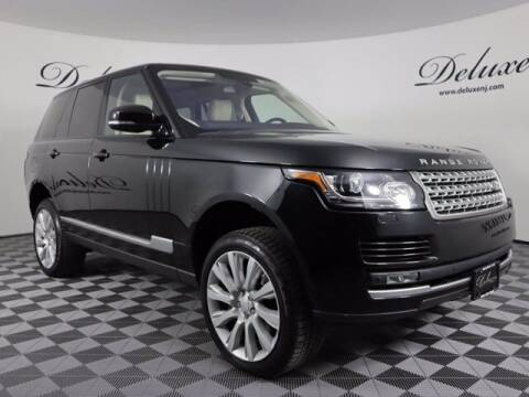 2016 Land Rover Range Rover for sale at DeluxeNJ.com in Linden NJ