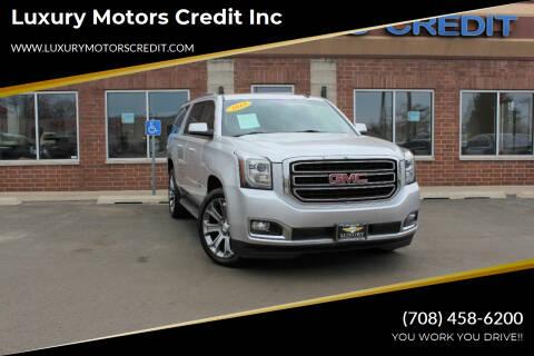2015 GMC Yukon XL for sale at Luxury Motors Credit Inc in Bridgeview IL