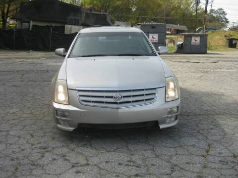 2007 Cadillac STS for sale at LAKE CITY AUTO SALES in Forest Park GA