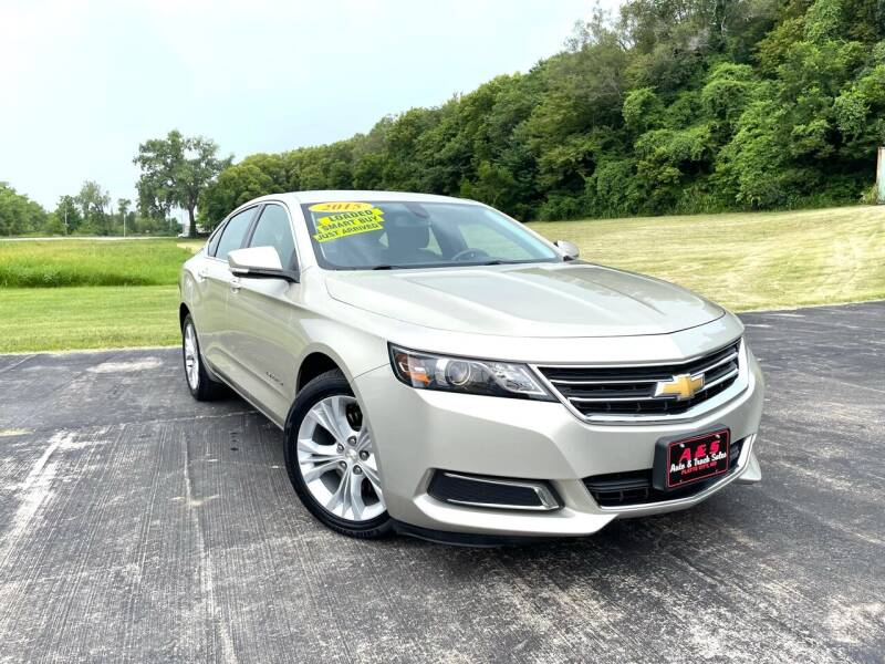 2015 Chevrolet Impala for sale at A & S Auto and Truck Sales in Platte City MO