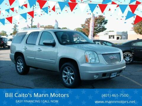 2013 GMC Yukon for sale at Bill Caito's Mann Motors in Warwick RI