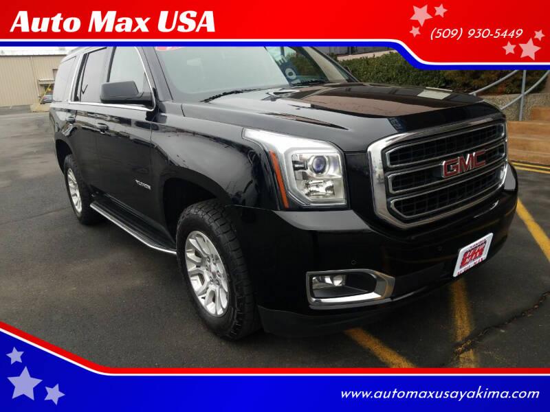2015 GMC Yukon for sale at Auto Max USA in Yakima WA