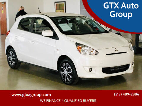 2015 Mitsubishi Mirage for sale at GTX Auto Group in West Chester OH