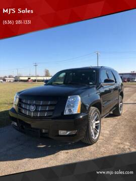 2012 Cadillac Escalade for sale at MJ'S Sales in Foristell MO
