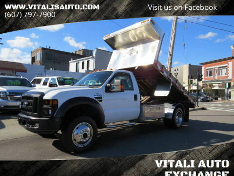 2008 Ford F-550 Super Duty for sale at VITALI AUTO EXCHANGE in Johnson City NY