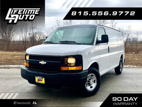 2009 Chevrolet Express Cargo for sale at Lifetime Auto in Elwood IL