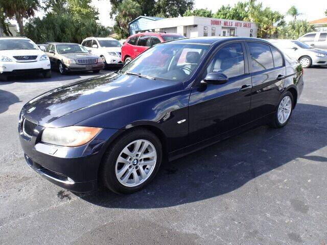 2007 BMW 3 Series for sale at DONNY MILLS AUTO SALES in Largo FL