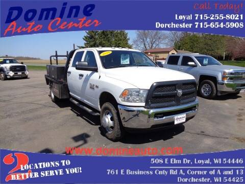 2018 RAM Ram Chassis 3500 for sale at Domine Auto Center - commercial vehicles in Loyal WI