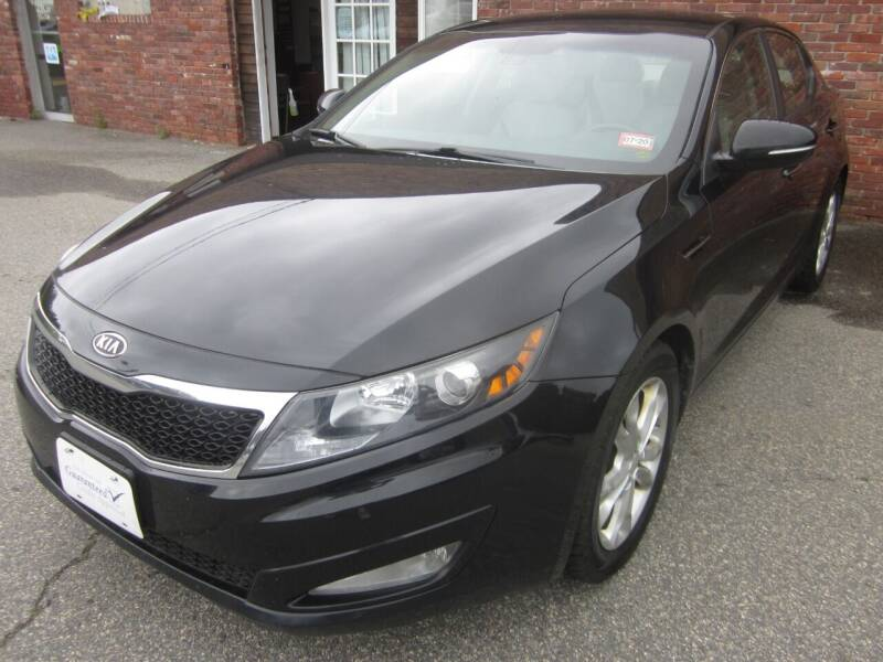 2012 Kia Optima for sale at Tewksbury Used Cars in Tewksbury MA