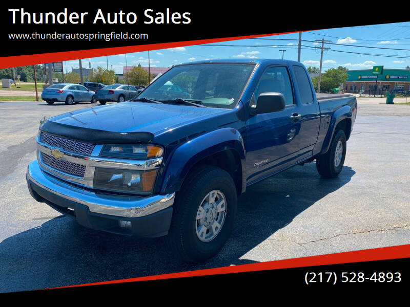 2005 Chevrolet Colorado for sale at Thunder Auto Sales in Springfield IL