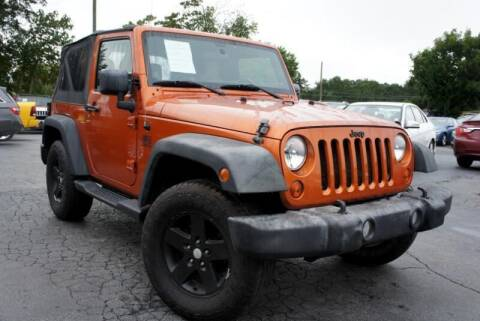 2011 Jeep Wrangler for sale at CU Carfinders in Norcross GA