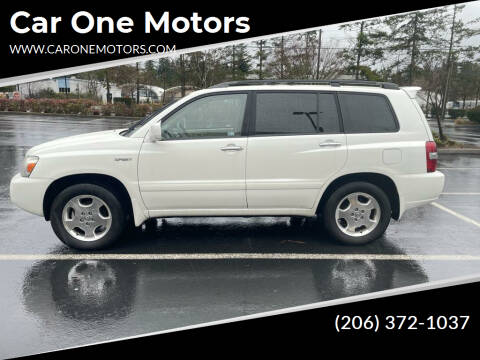 2006 Toyota Highlander for sale at Car One Motors in Seattle WA