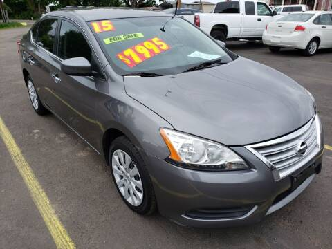 2015 Nissan Sentra for sale at Low Price Auto and Truck Sales, LLC in Salem OR