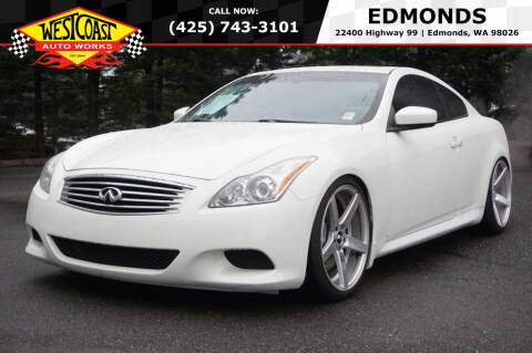 2008 Infiniti G37 for sale at West Coast Auto Works in Edmonds WA