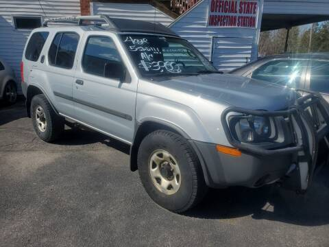 2003 Nissan Xterra for sale at JR's Auto Connection in Hudson NH