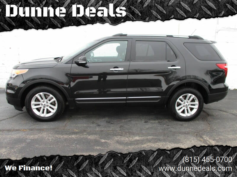 2014 Ford Explorer for sale at Dunne Deals in Crystal Lake IL