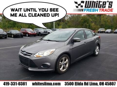 2013 Ford Focus for sale at White's Honda Toyota of Lima in Lima OH