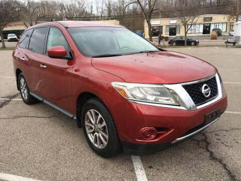 2013 Nissan Pathfinder for sale at Borderline Auto Sales in Loveland OH