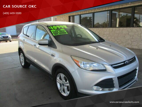 2015 Ford Escape for sale at CAR SOURCE OKC - CAR ONE in Oklahoma City OK