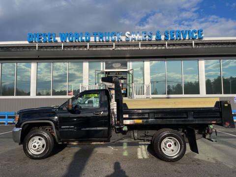 2016 GMC Sierra 3500HD CC for sale at Diesel World Truck Sales - Dump Truck in Plaistow NH