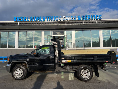 2016 GMC Sierra 3500HD CC for sale at Diesel World Truck Sales in Plaistow NH