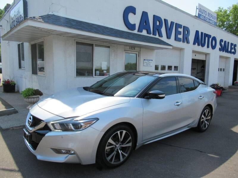 2016 Nissan Maxima for sale at Carver Auto Sales in Saint Paul MN