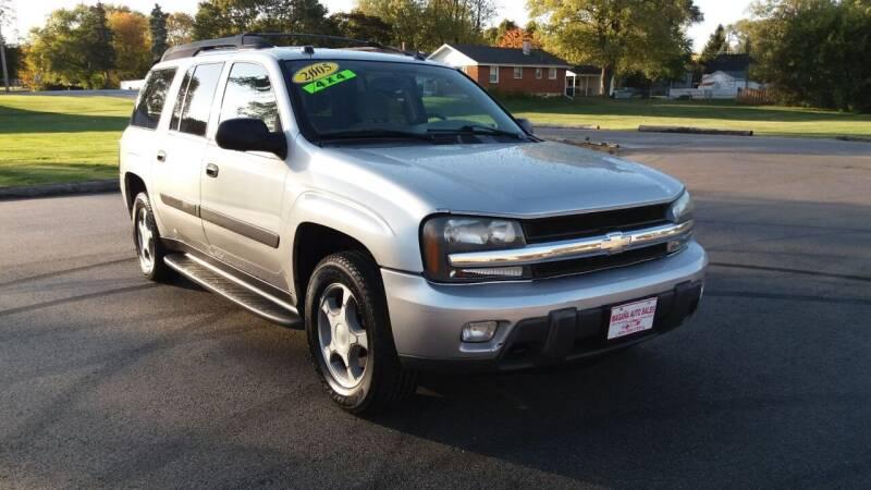 2005 Chevrolet TrailBlazer EXT for sale at Magana Auto Sales Inc in Aurora IL