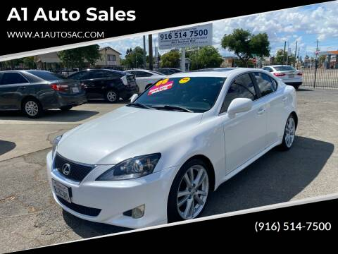 2008 Lexus IS 250 for sale at A1 Auto Sales in Sacramento CA
