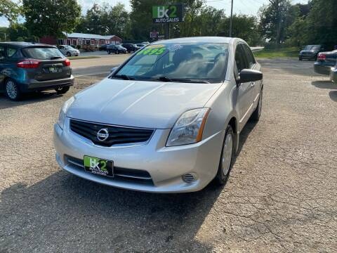 2012 Nissan Sentra for sale at BK2 Auto Sales in Beloit WI