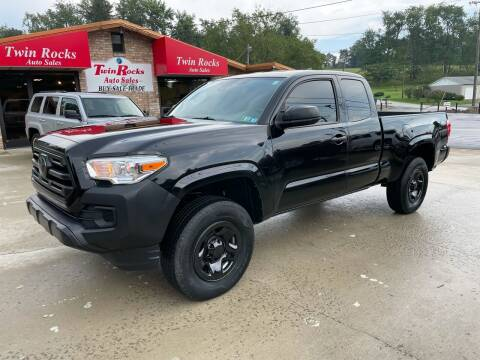 2018 Toyota Tacoma for sale at Twin Rocks Auto Sales LLC in Uniontown PA